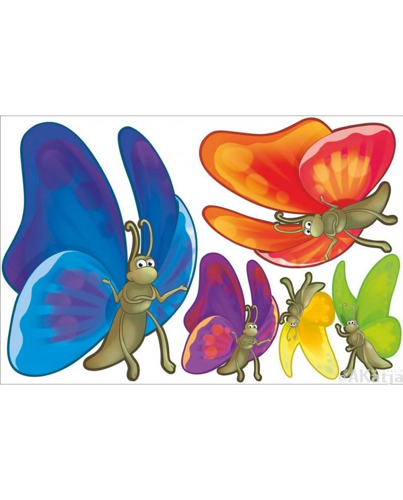 Bajkowe motylki mini