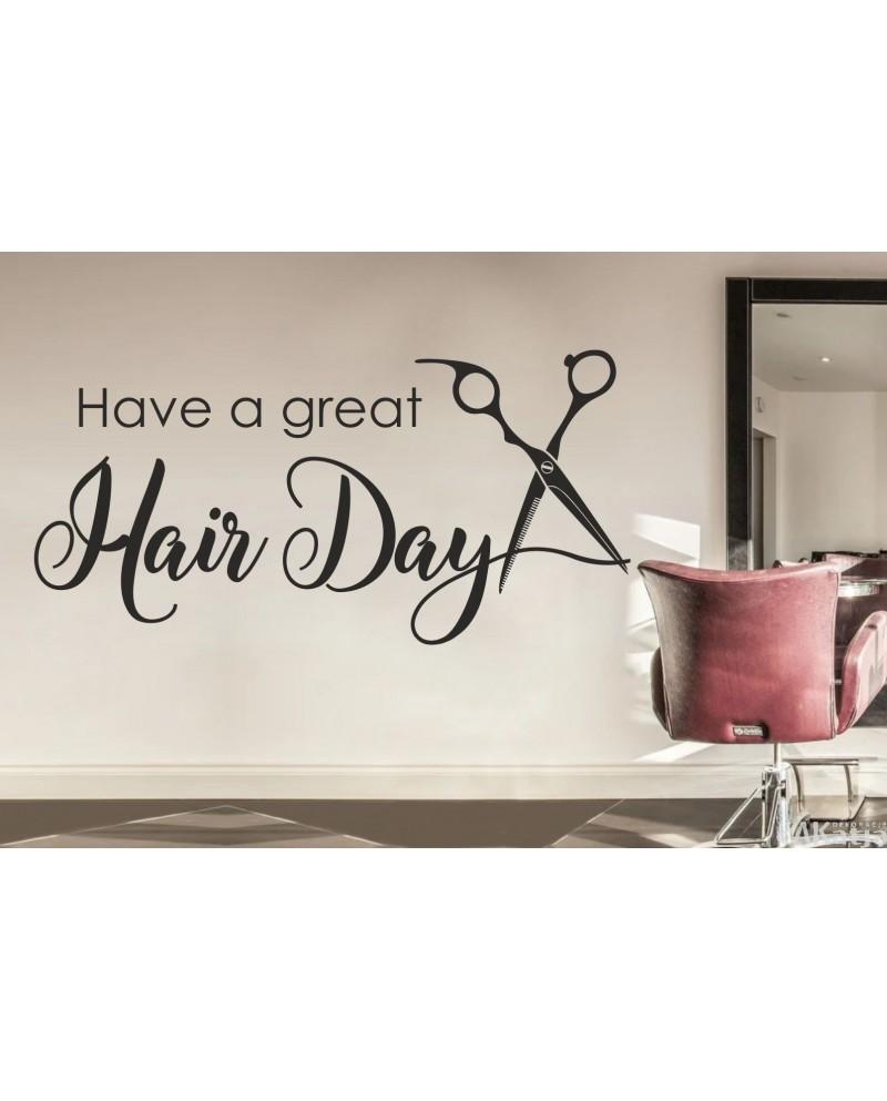 naklejka hair day