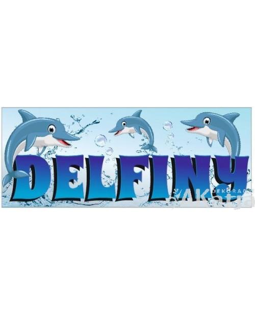 Tabliczka Delfiny