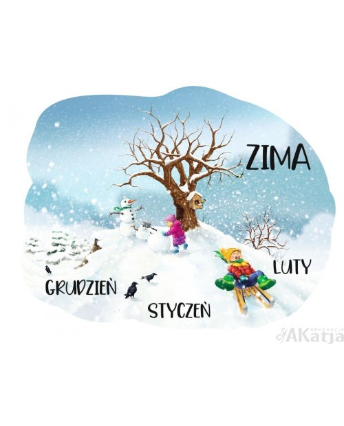 Zima - 4 pory roku z opisem