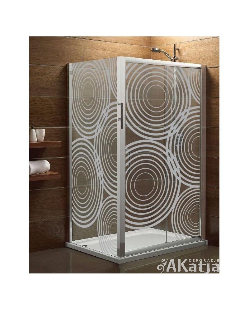 Naklejka mrożone szkło: Koła