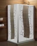 Maskująca naklejka mrożone szkło: Bąbelki