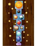 Podłogowa gra w klasy - Planety
