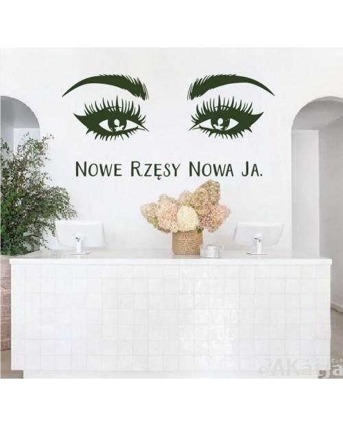 Nowe rzęsy Nowa ja