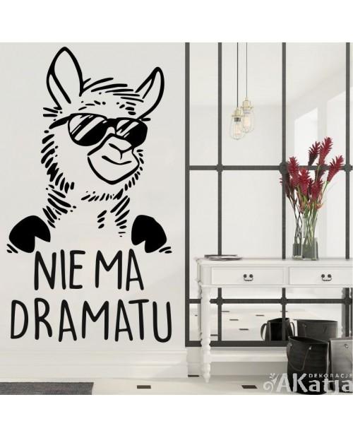 Naklejka Lama: Nie ma dramatu