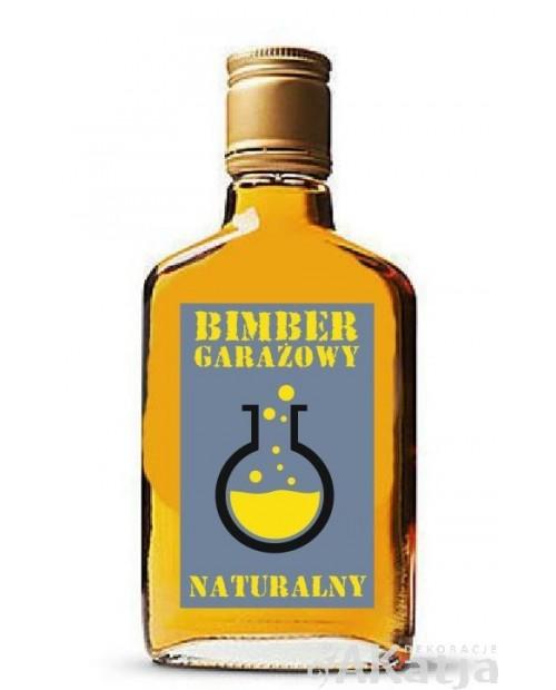 Etykiety na alkohol Bimber Garażowy