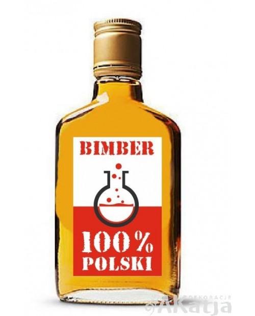 Etykiety na alkohol Bimber Polski