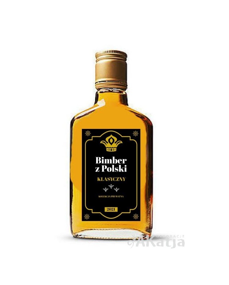 Etykiety na alkohol Bimber z Polski