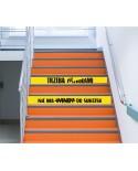 Naklejki na schody - Nie ma windy do sukcesu