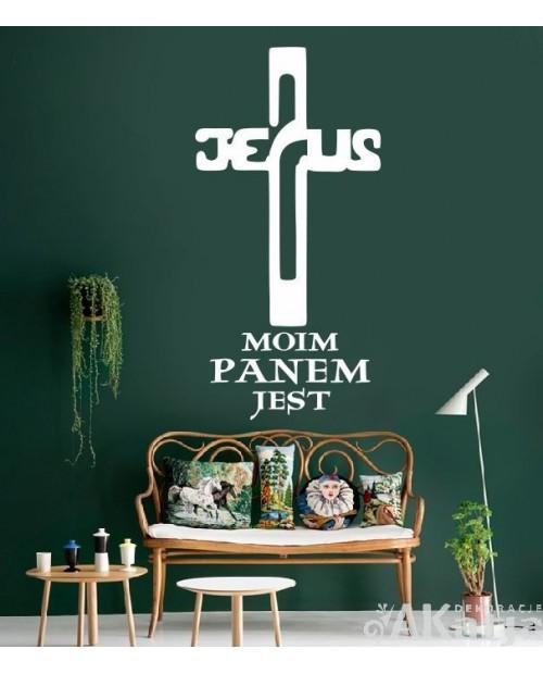 Jezus Moim Panem Jest- cytat na ścianę