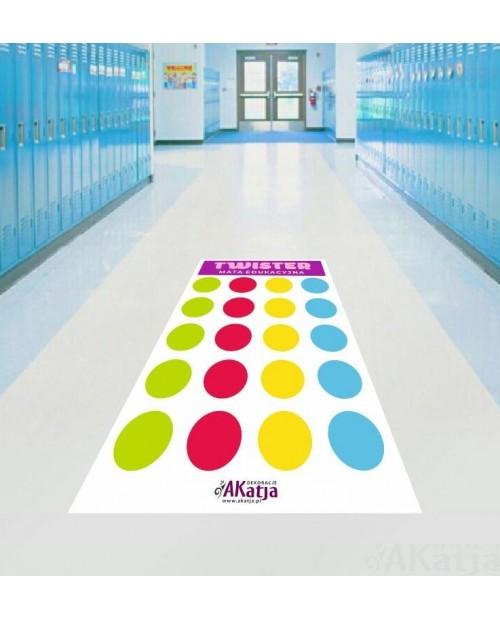 Mata Edukacyjna - Twister