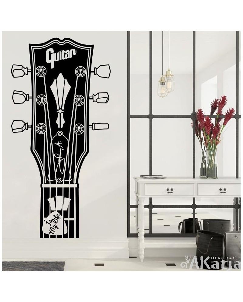 Naklejka Różne Rzeczy Gitara