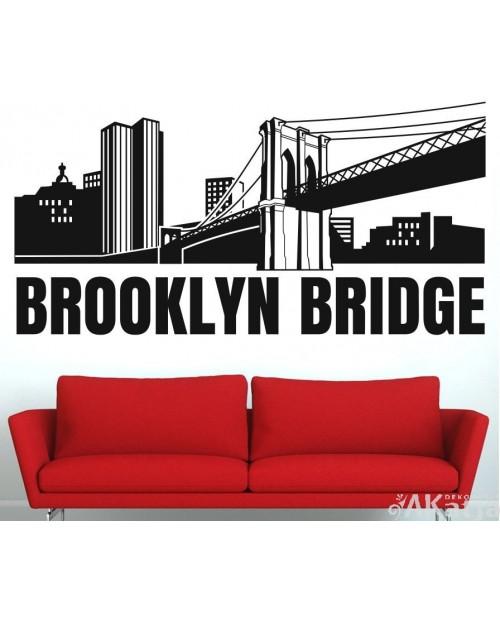 Naklejka Różne Rzeczy Most Brookliński
