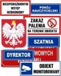 tabliczki do szkół
