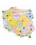 Mapy - naklejki ścienne