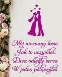 naklejki ślubne