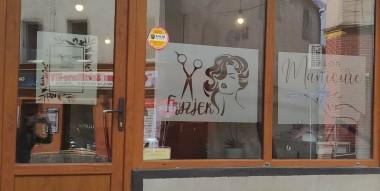 Naklejki fryzjerskie i kosmetyczne